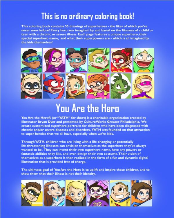 The Superhero Coloring Book: Volume One 4