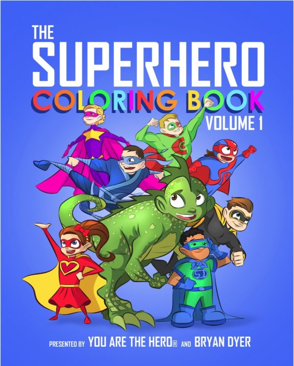 The Superhero Coloring Book: Volume One 3