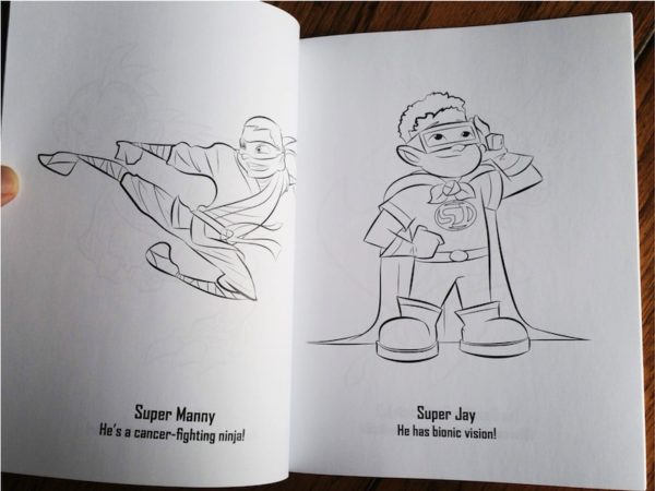 The Superhero Coloring Book: Volume One 7