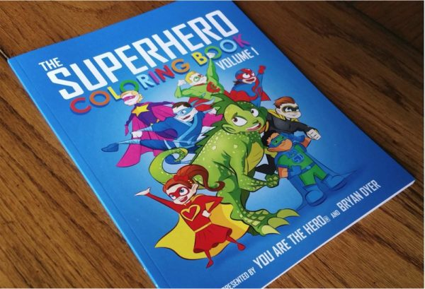 The Superhero Coloring Book: Volume One 2