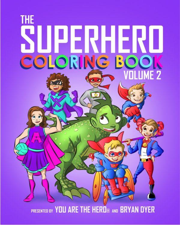 The Superhero Coloring Book: Volume 2 3