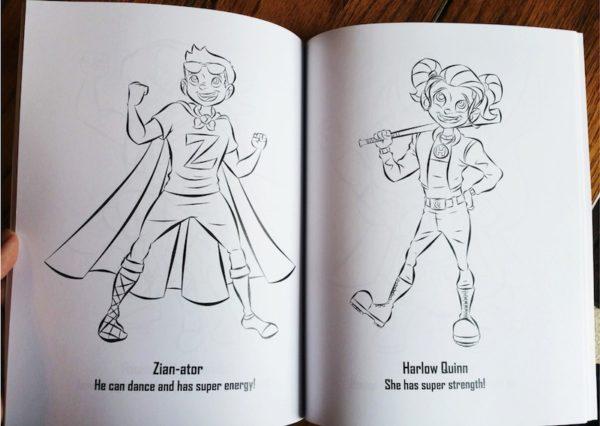 The Superhero Coloring Book: Volume 2 4