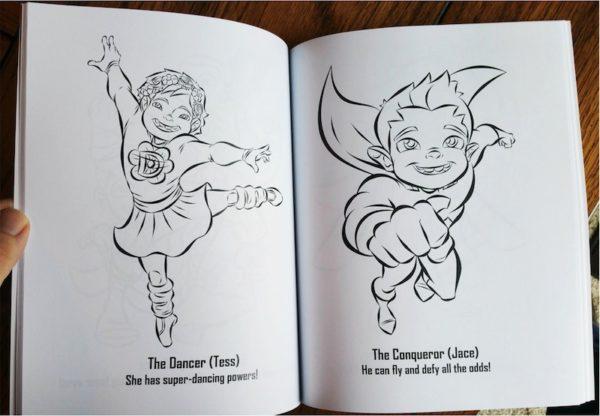 The Superhero Coloring Book: Volume 2 5
