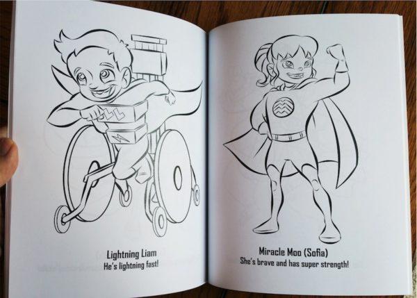 The Superhero Coloring Book: Volume 2 6